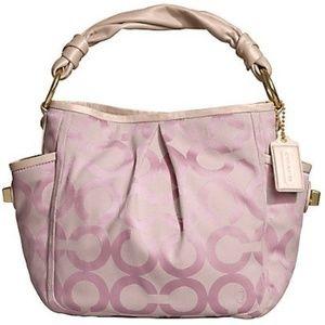 Coach Parker Op Art Shoulder Bag 13427